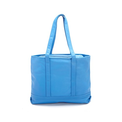 American Leather Executive Carryall Tote Bag, Blue
