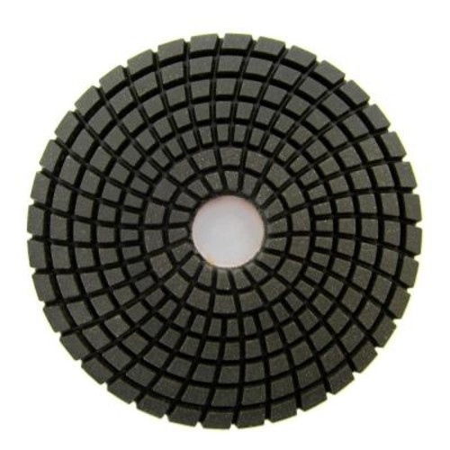 Archer USA 4 in. #100 Grit Wet Diamond Polishing Pad for Stone