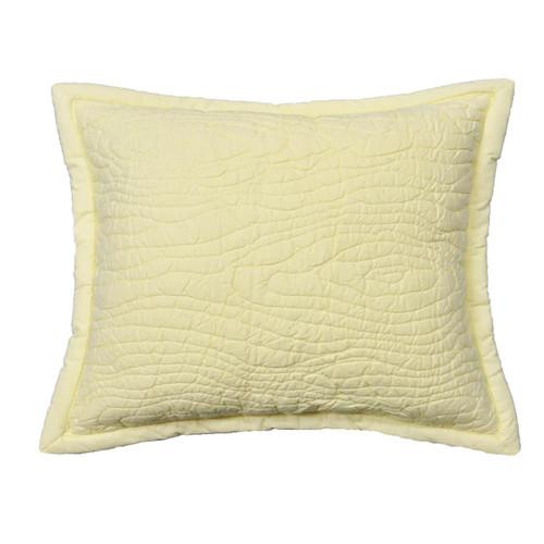 Cottage Home Pillowcases & Shams Barker Ivory Sham