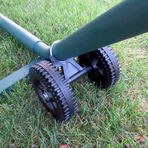 Island Umbrella Hammocks & Swings Island Retreat Hammock Wheel Set