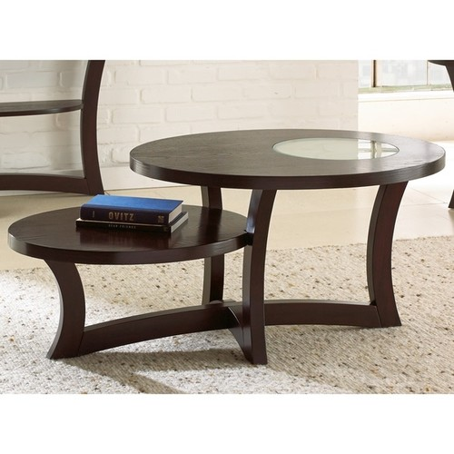 Greyson Living Amia Espresso Display Coffee Table