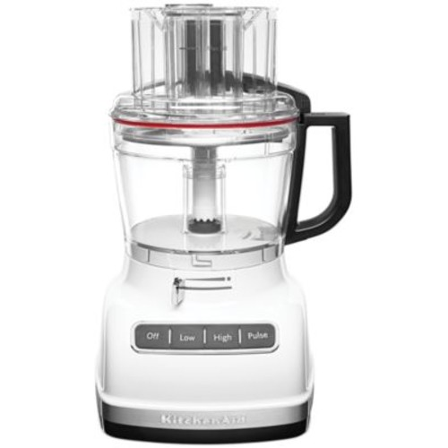 KitchenAid KFP1133WH 11-Cup Food Processor with Exact Slice System - White [White]