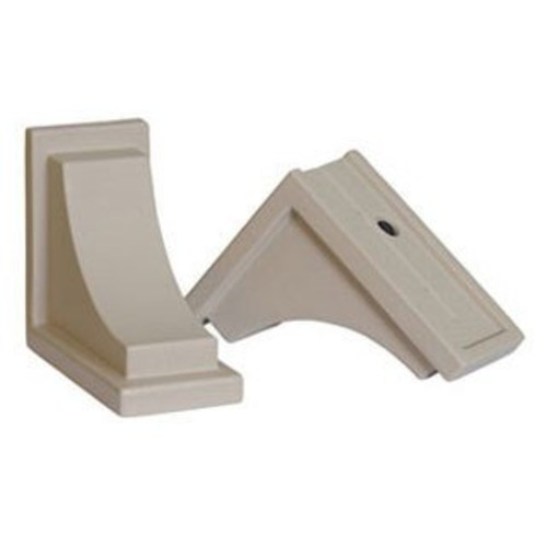 Clay Nantucket Decorative Brackets - Set of 2
