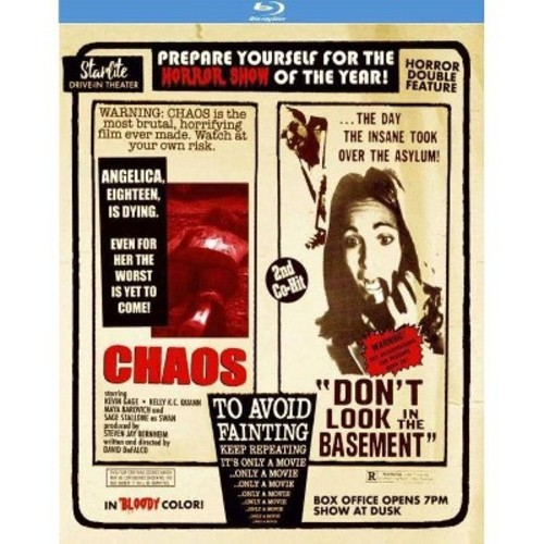 Chaos/Don't Look In The Basement (Blu-ray)
