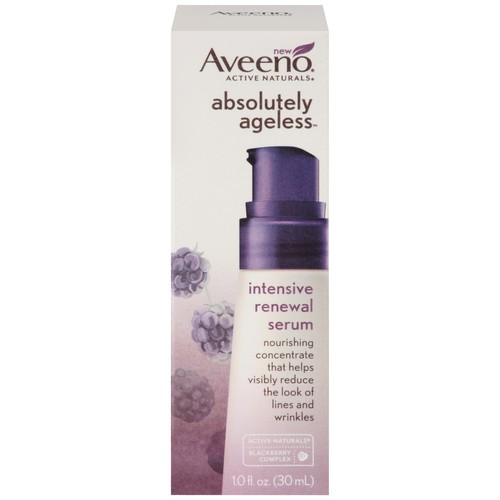 Aveeno Absolutely Ageless Intensive Renewal Serum, 1 fl oz, 1 Count