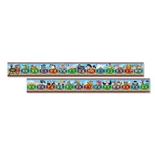 Melissa & Doug Alphabet Express Jumbo Jigsaw Floor Puzzle (27pc, 10 feet long)