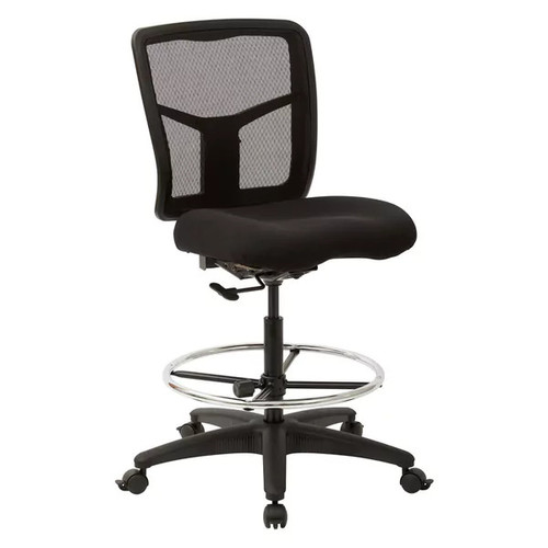Pro-Line II Progrid Mesh Adjustable Footring Drafting Chair