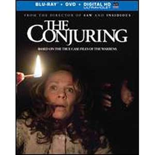 The Conjuring [Includes Digital Copy] [UltraViolet] [Blu-ray/DVD] WSE DHMA/DD5.1