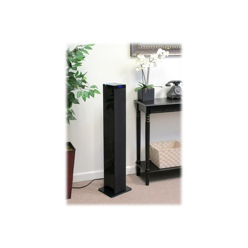Innovative Technology ITSB-300 Bluetooth Tower Speaker with Digital Radio and Tablet Holder