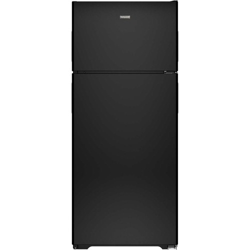 Hotpoint 17.6 cu. ft. Top Freezer Refrigerator in Black