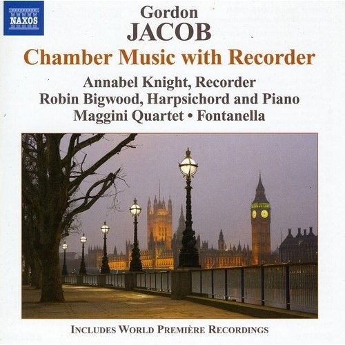 Gordon Jacob: Chamber Music with Recorder [CD]