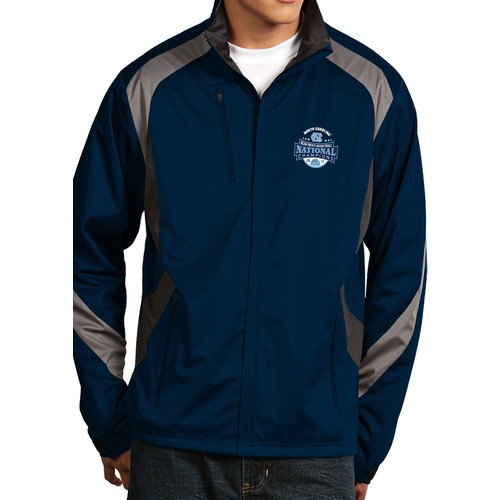 Antigua Men's North Carolina Tar Heels 2017 NCAA Men's Basketball National Champions Tempest Full-Zip Jacket