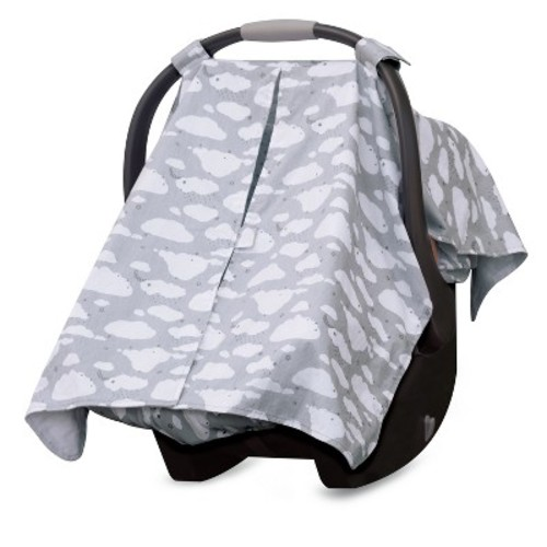 GO by Goldbug Clouds Canopy Cover and Liner Set