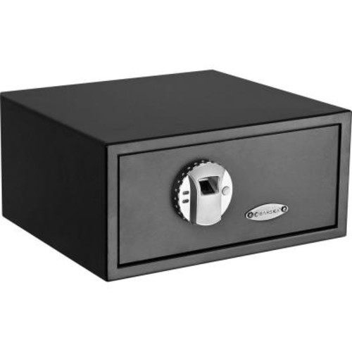 BARSKA 0.8 cu. ft. Standard Safe with Biometric Lock, Black Matte