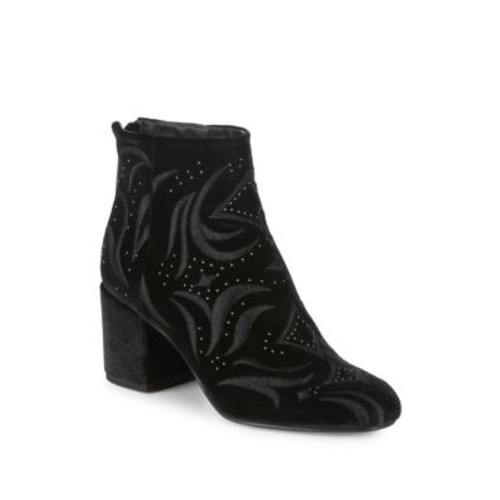Dolce Vita - Ibis Embroidered Velvet Boots