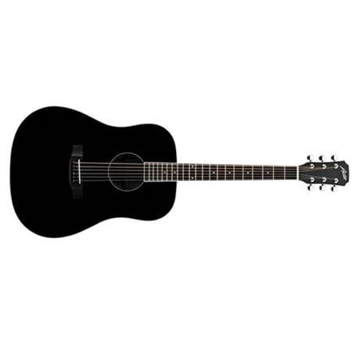 Austin AA25 Dreadnought Acoustic Guitar, Black AA25-DBK
