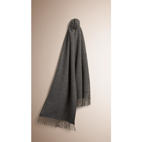 BURBERRY Textured Cashmere Scarf