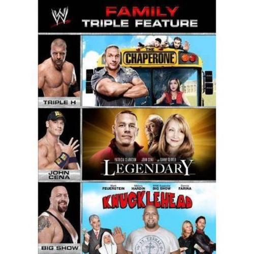 WWE: Family Triple Feature: - The Chaperone/Legendary/Knucklehead [3 Discs] [DVD]