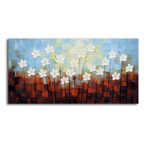 True Beauty Stands Out' Original Oil Painting on Canvas