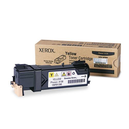 Xerox Phaser 6130 Yellow Toner Cartridge (106R01280)