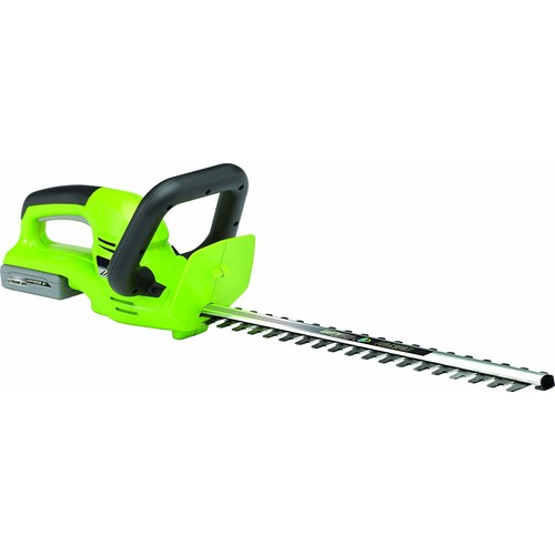 Earthwise LHT12020 20-Inch 20-Volt Lithium Ion Cordless Electric Hedge Trimmer [20-Inch, 20-Volt Cordless]