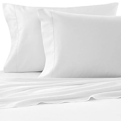 Bellino Raso Cotton Queen Fitted Sheet in White