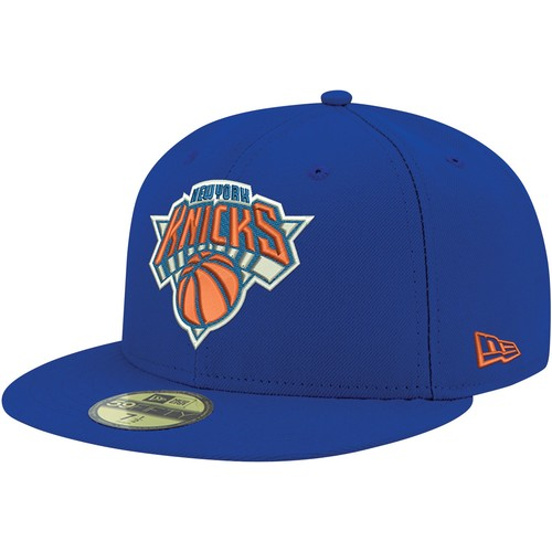 Era Men's New York Knicks 59Fifty Royal Fitted Hat
