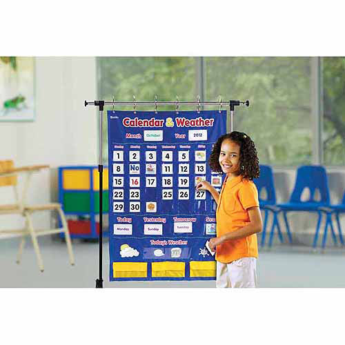 Learning Resources Calendar and Weather Pocket Chart [1]