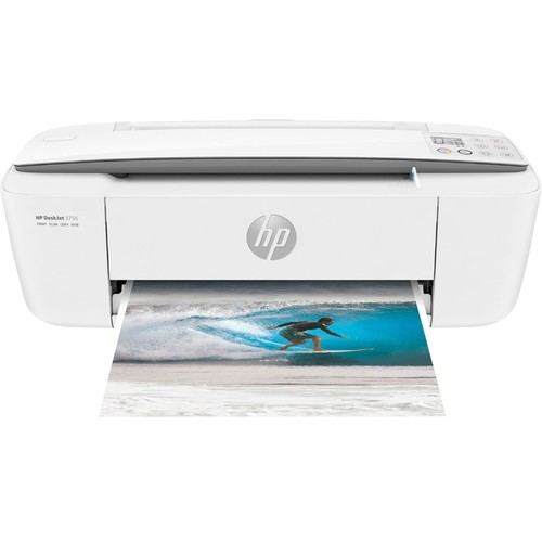HP - DeskJet 3755 Wireless All-In-One Instant Ink Ready Printer