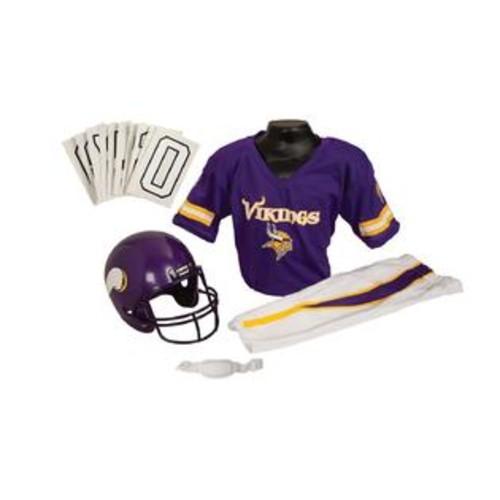 Franklin Sports 15701F07P1Z NFL VIKINGS Medium Uniform Set