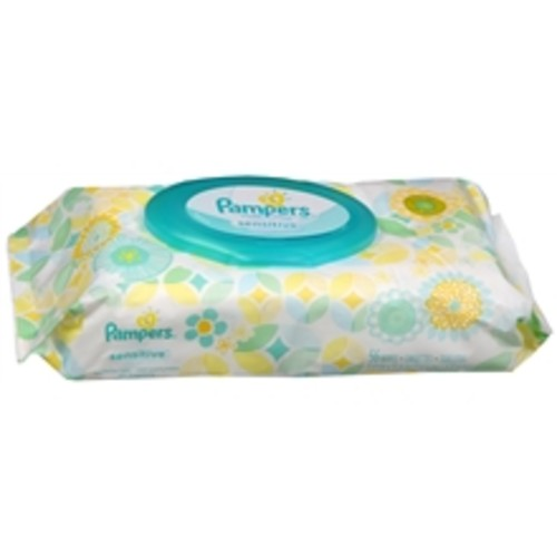 Pampers Sensitive Baby Wipes Travel Pack Unscented