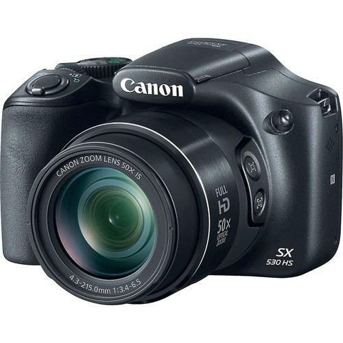 Canon PowerShot SX530 HS 16-megapixel digital camera with 50X optical zoom and Wi-Fi