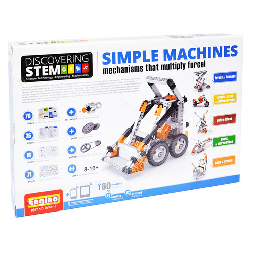 Engino STEM Simple Machines Kit