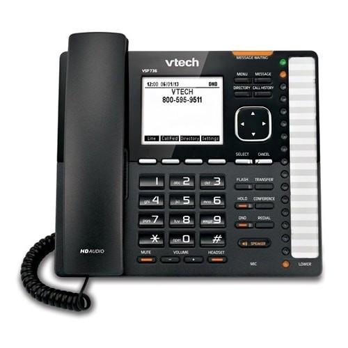 Refurbished VTech VSP736 ErisTerminal DECT SIP Deskset