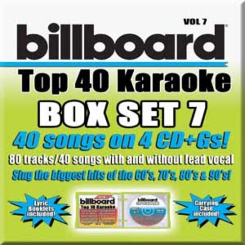 Party Tyme Karaoke: Billboard Top 40 Karaoke Box Set 7 [Audio CD]