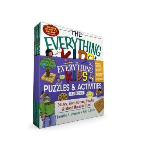 Everything Kids' Puzzles & Activities Bundle (Paperback) (Beth L. Blair & Jennifer A. Ericsson)