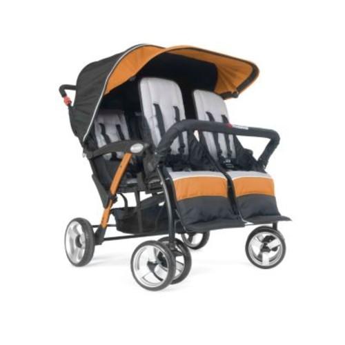 Quad Sport 4-Passenger Stroller, Orange
