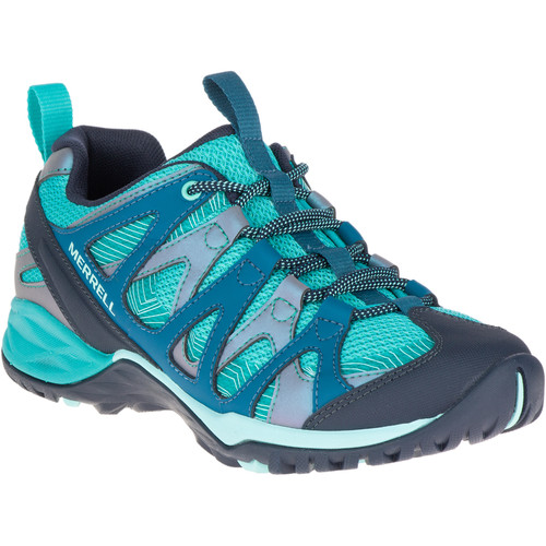 MERRELL Women's Siren Hex Q2 Hiking Shoes, Baltic