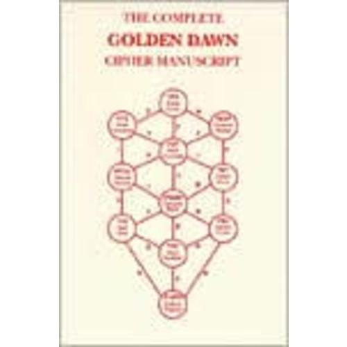 Complete Golden Dawn Cipher Manuscript