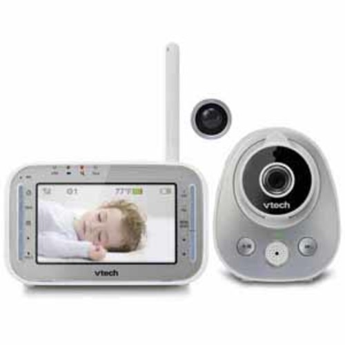 VTech Baby Monitor - Safe&Sound Pan & Tilt Full Color Video Monitor