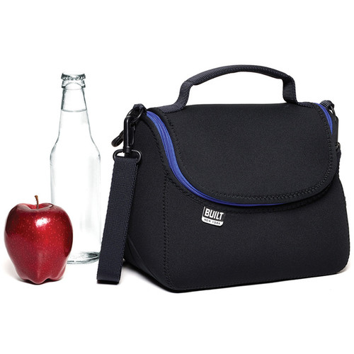 Built Lunch Bags & Food Containers Built Bistro Black Lunch Tote