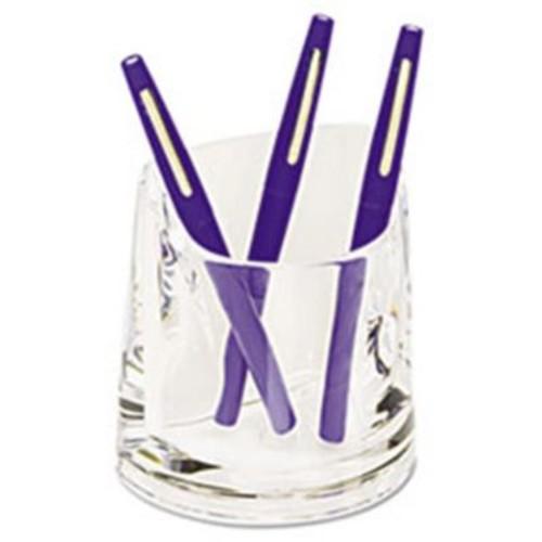 Swingline Stratus Acrylic Pen Cup, Clear (AZTY15192)
