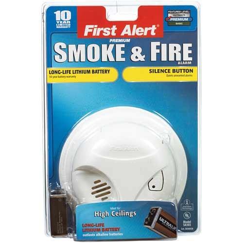 First Alert Battery-Powered Ionization Smoke Alarm(SA305CN3)