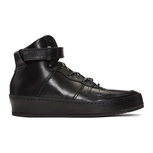 Black Manual Industrial Products 01 High-Top Sneakers