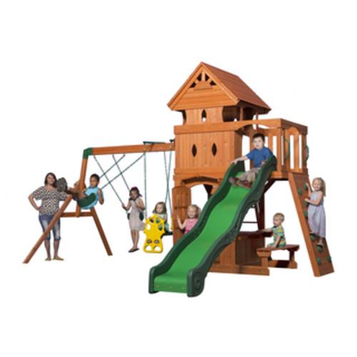 Backyard Discovery Tanglewood All Cedar Swingset