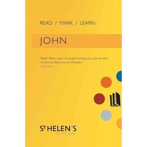 Read Mark Learn: John: A Small Group Bible Study