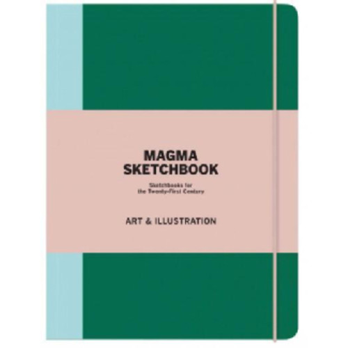 Magma Sketchbook Art & Illustration (Notebook / blank book)