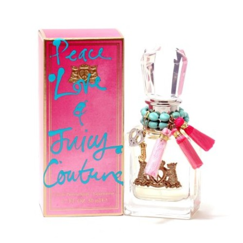 Peace Love and Juicy Couture by Juicy Couture, Eau De Parfum Spray, 1.7-Ounce [50ml/1.7oz]