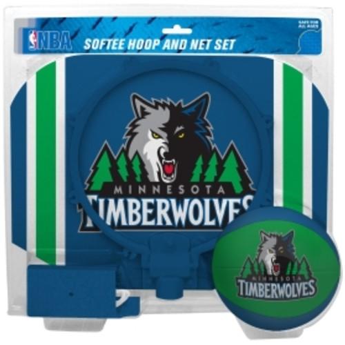 Rawlings Minnesota Timberwolves Softee Basketball Hoop and Ball Set