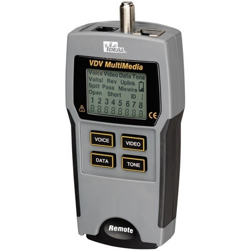 Ideal Vdv Multimedia Voice, Data and Video Tester (Discontinued by Manufacturer)